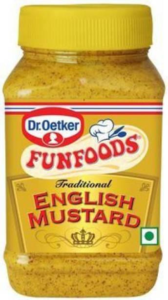 FUN FOODS English Mustard 300 Gram 300 g