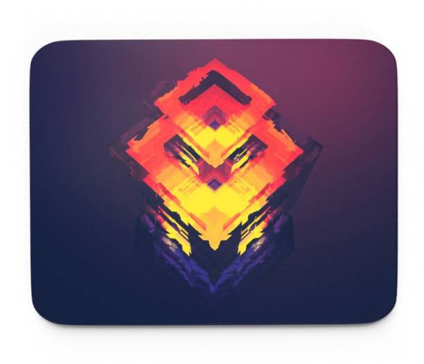 Tongues n grooves ABSTRACT ART DESIGN GAMING MOUSE PAD. Mousepad