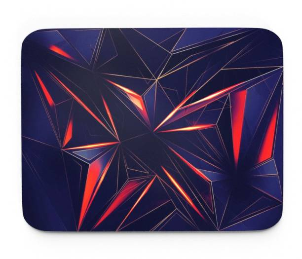 Tongues n grooves ABSTRACT ART DESIGN GAMING M Mousepad