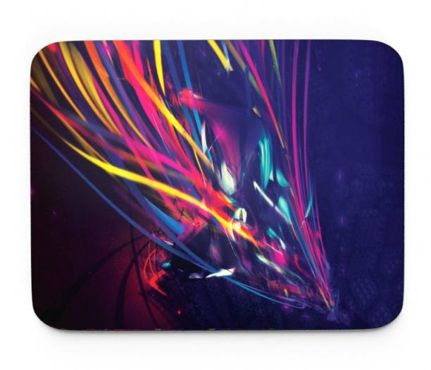 Tongues n grooves ABSTRACT ART DESIGN GAMING MOUSEPAD. Mousepad