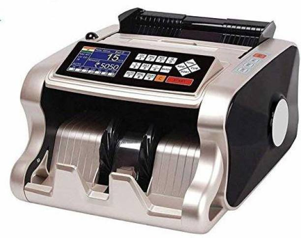 JD9 Mix Note Value Counting Machine with New updated technology of fake note detection (Counting Speed - 1000 notes/min)(GOLD) Note Counting Machine