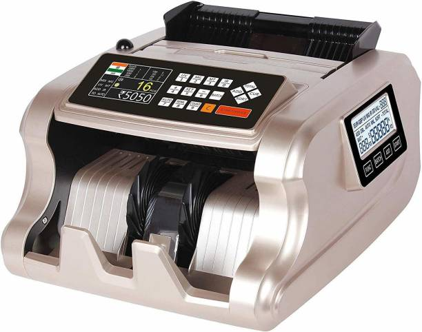 JD9 Mix Value Counting Machine with New updated technology of fake note detection (Counting Speed - 1000 notes/min) Note Counting Machine
