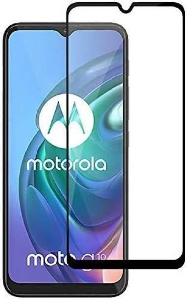 CASEHUNT Edge To Edge Tempered Glass for Motorola G10 Power