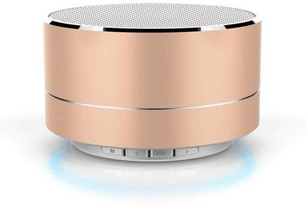WILES P10 Wireless 3W Super Bass Mini Metal Aluminium Alloy Portable Bluetooth Speaker 3 W Bluetooth Speaker