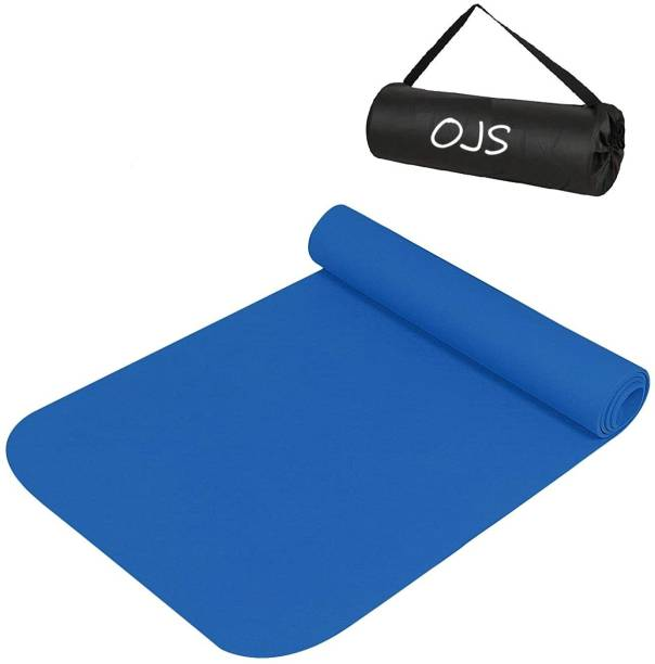 ojs Yoga Mat for Gym Workout & Flooring Exercise for Men and Women with Bag 6MM mm Yoga Mat