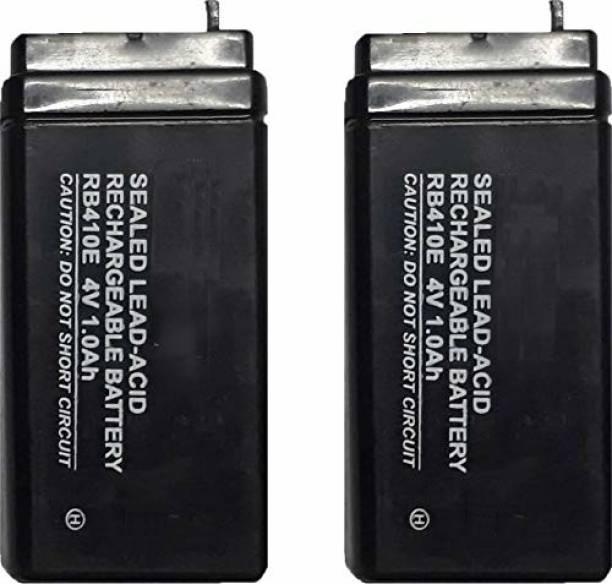 HARI ENTERPRISE 4V 1 Ampere Sunca/Sigma Sealed Lead Acid Type Battery - Pack of 2 1 Ah Battery for Bike