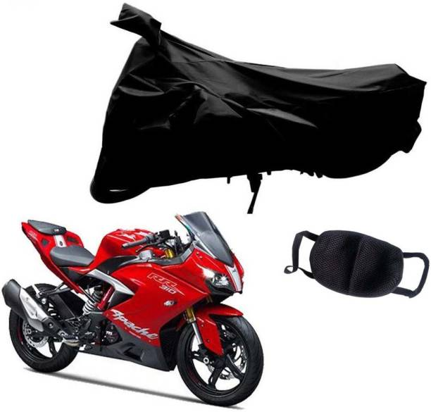 Riderscart 1 Bike Cover & 1 Pollution Mask Combo