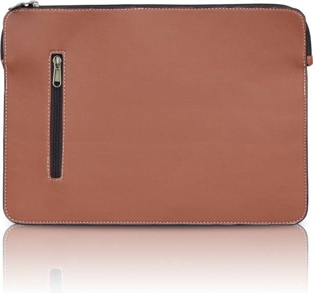 kohnsohl Leatherette with Side Pocket Sleeve Case Cover for MacBook Air 13 inch 2017/ MacBook Pro 13 inch 2017/ DELL XPS 13/ HP/ ASUS up to 13 inch Laptop Bag