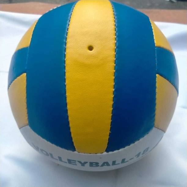 Seven Star Sports Pu Manchester classic volleyball with pump Volleyball - Size: 4