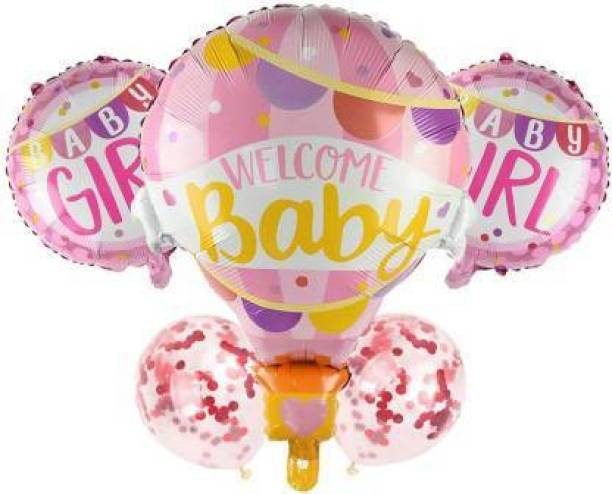 Eos Solid WELCOME BABY Balloon