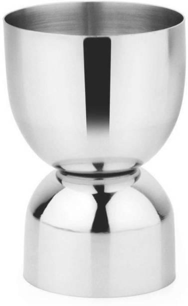 AK trade Peg Measurement 30/60 ML Whiskey Vodka Wine Measurement Glass Stainless Steel 30/60 ML Decanter