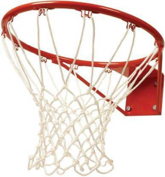 Azure Heavy Duty Diameter 29 cm with Net & Screw/Bolts Basketball Ring