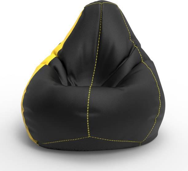 ComfyBean XL Tear Drop Bean Bag Cover  (Without Beans)