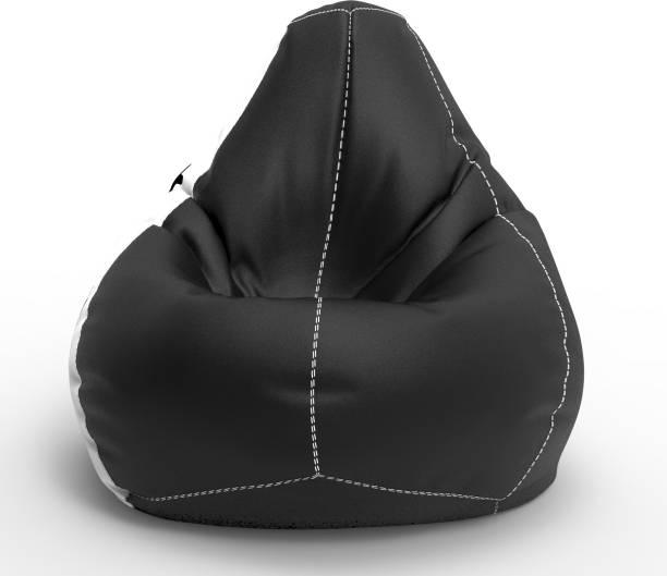 ComfyBean XXL Tear Drop Bean Bag Cover  (Without Beans)