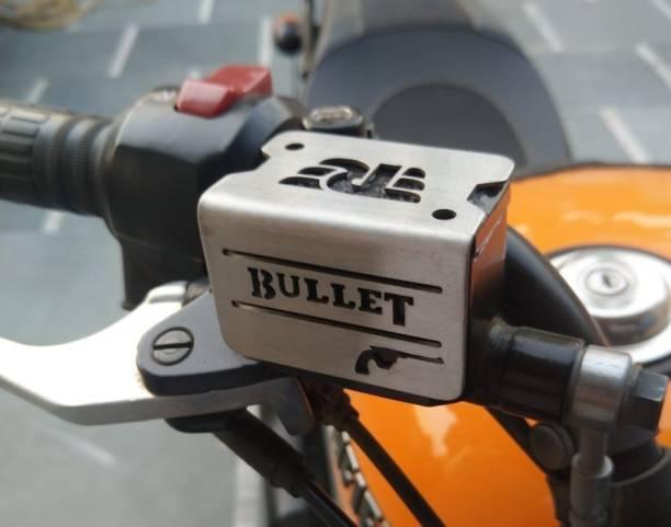 TRP Traders Motorcycle Bike BULLET Front Disc Brake Fluid Reservoir Cap Cover Guard Protector Bike Crash Guard