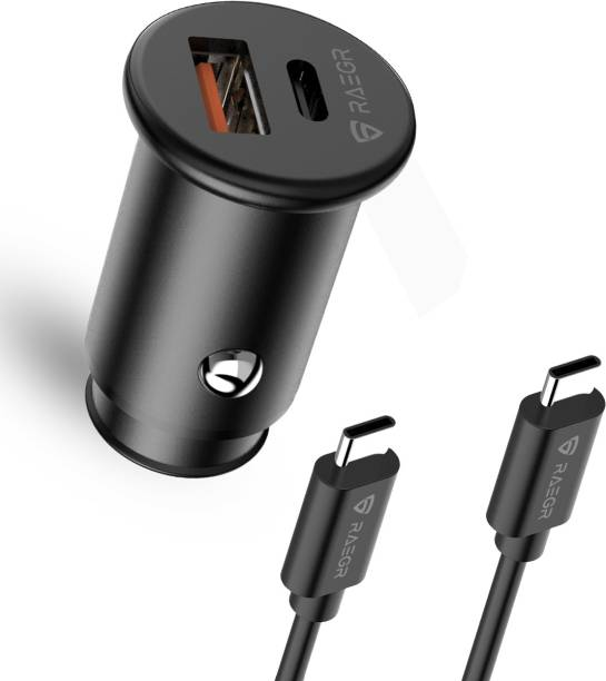 RAEGR 3 Amp Turbo Car Charger