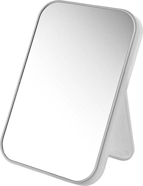 MINISO Simple Rectangle Table Mirror Makeup Mirror for Bathroom Bedroom