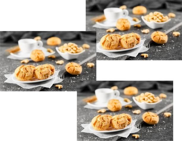 BADSHAH MILK RUSK BDSAHBaked Besan khatai -(Pack of 3)-300g each Cookies