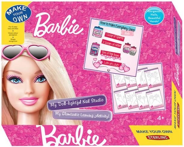 VARNA Sterling My Doll Lightful Nail Studio - Barbie, Multi Color