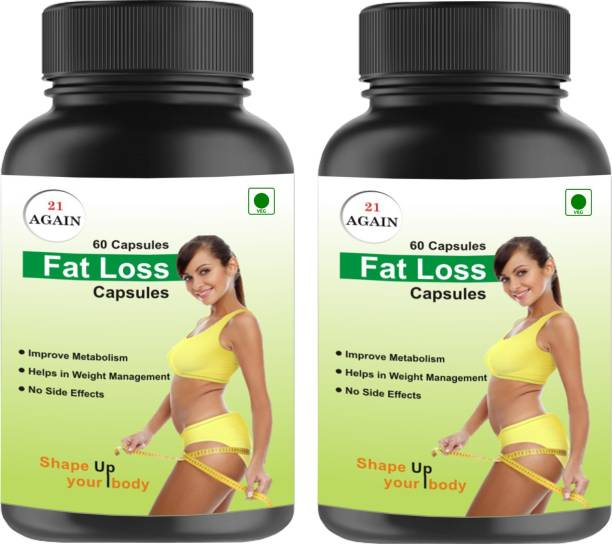 21 again Weight Loss - Guranteed Fat Loss Capsules - Combo Combo