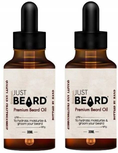 Enorgen JUSTBEARD Beard Oil :Growth | Softener | Conditioner | 100% Natural Hair Oil