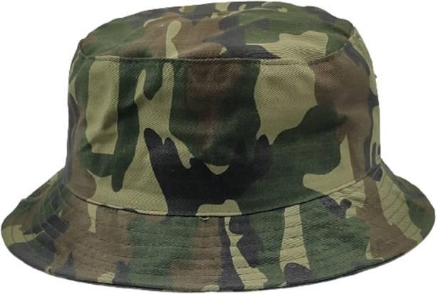 ZACHARIAS Fishermen Bucket Camouflage Military Army Print Cap Hat