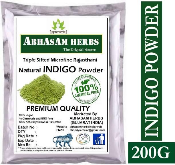 Abhasam herbs Powder for Hair - Natural Black Dye, Anti-Dandruff & Hair Growth 200g