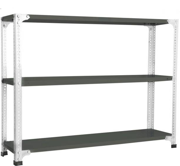 Spacious Multipurpose 3 Storage Shelves for Shoes&Clothes Luggage Rack