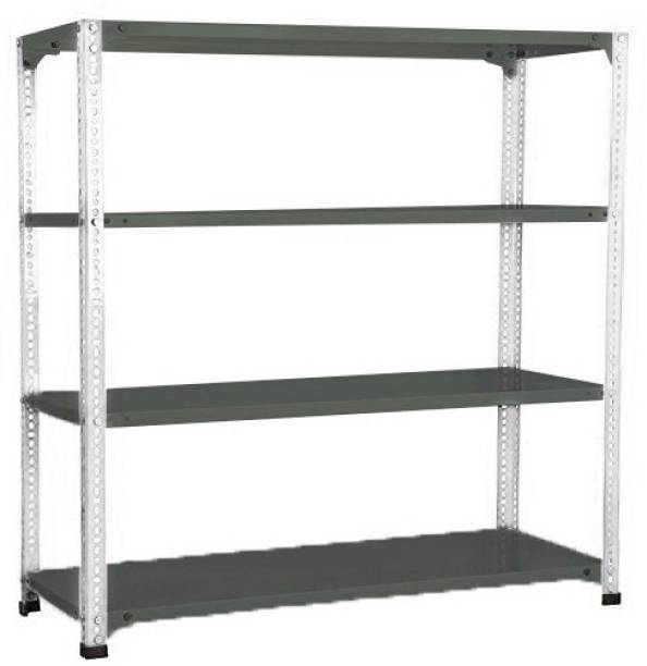 Spacious 4 Storage Racks for Cloths and Shoes, 12x24x48' Inches. Luggage Rack