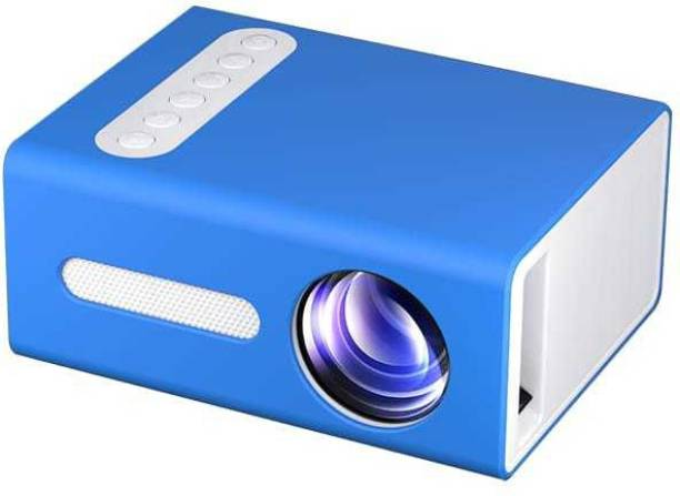 IBS T 300 LED Projector Mini Portable Projection Device with Short-Focus Optical Len TFT LCD Display 320 * 240 Resolution (3500 lm) Portable Projector