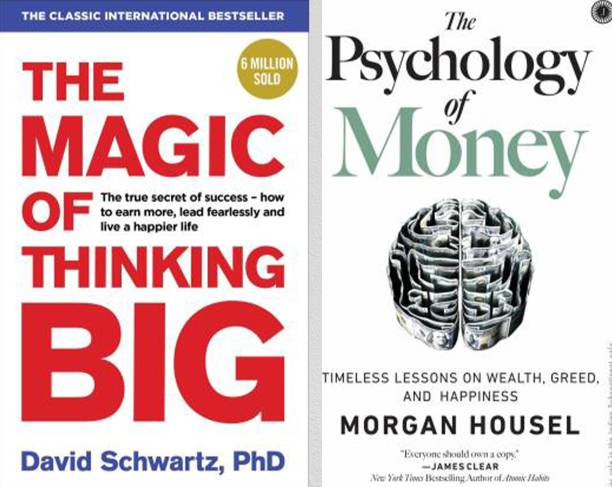 The Magic Of Thinking Big AND The Psychology Of Money ( Paperback, English ) ( Combo Of 2 )