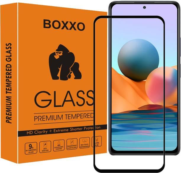 Boxxo Edge To Edge Tempered Glass for Mi Redmi Note 10