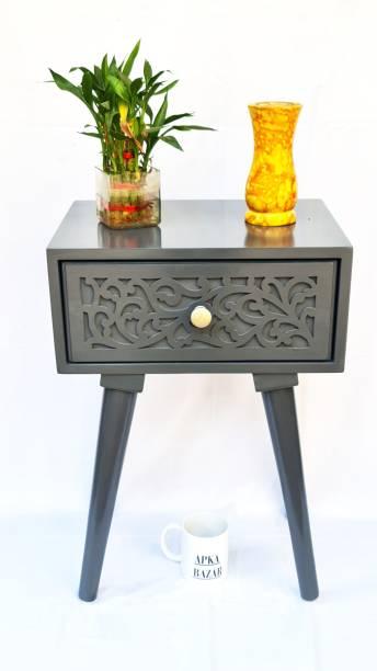 apkabazar Solid Wood Side Table