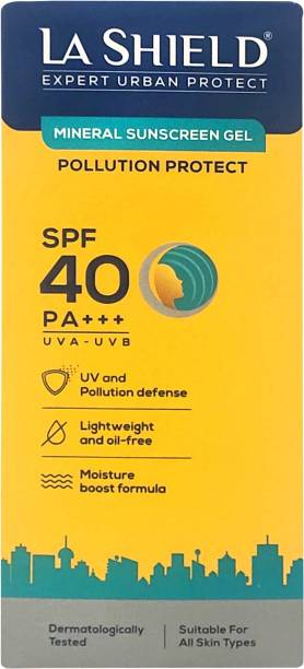 La Shield Pollution Protect Mineral Sunscreen - SPF 40 PA+++