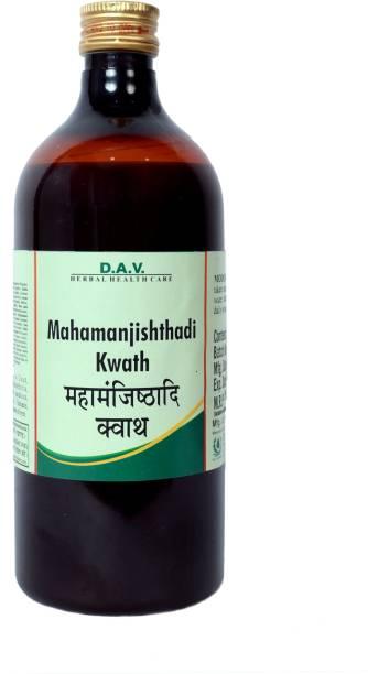 DAV Pharmacy Mahamanjishtadi Kwath