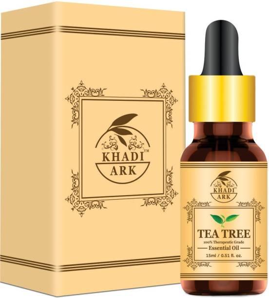 Khadi Ark Tea Tree Oil Pure For Anti Acne & Glowing Skin