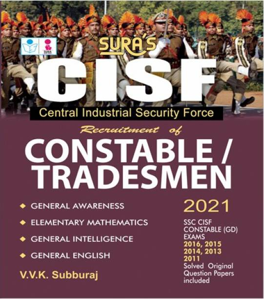 CISF(Central Industrial Security Force) Constable and Tradesmen Exam Books
