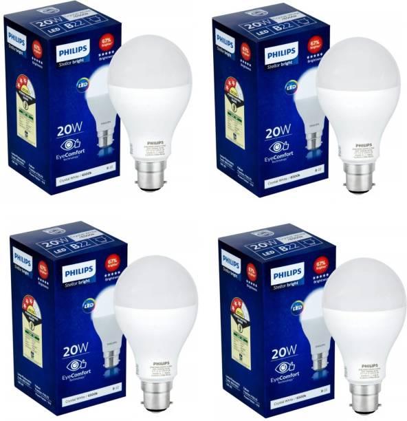 PHILIPS 20 W Round B22 LED Bulb