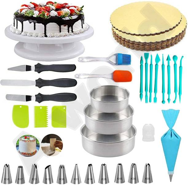 FLYBY cake decorating combo with fondant Baking Comb