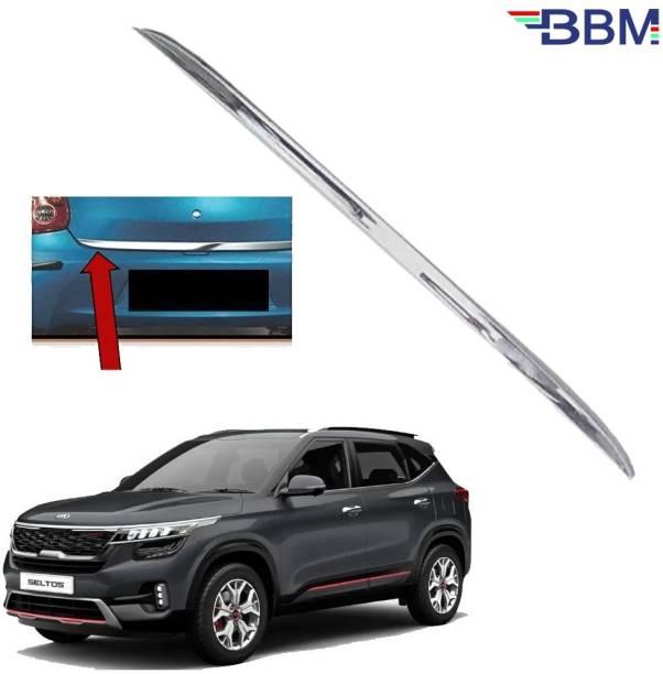 BBM Car Dicky Trim Garnish Diggi Silver Chrome Line Stainless Steel for Boot show Chrome GS NA Rear Garnish