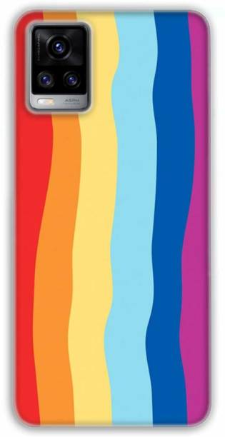 UNQMobi Back Cover for Vivo V20 Liquid Silicone Soft Anti-Slip & Shockproof Protective Case Back Cover