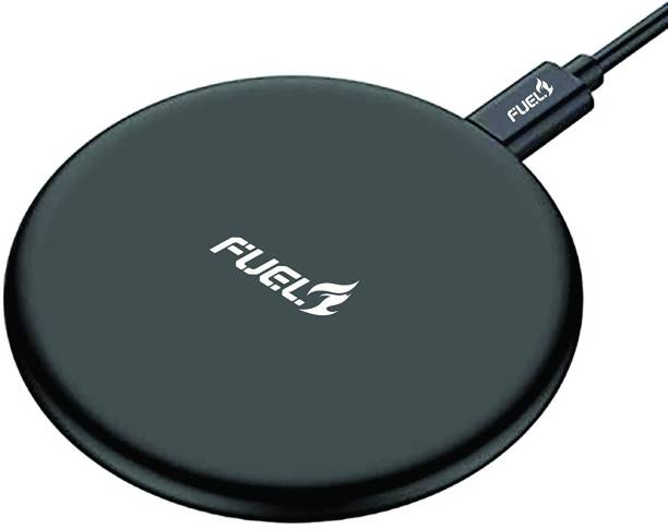 Fuel AIR Bug Qi-Certified 10W/7.5W Wireless Charger with Fireproof ABS for iPhone Charging Pad