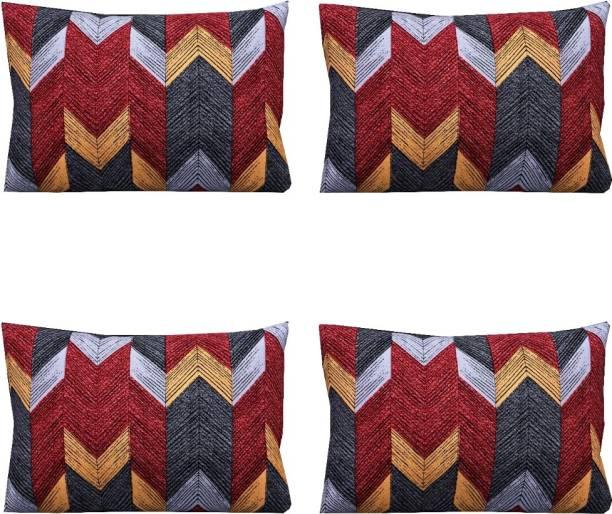 CHHAVI INDIA 3D Printed Cushions & Pillows Cover