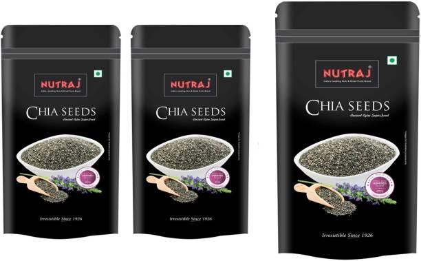 Nutraj Chia Seeds 200g (Pack of 3)