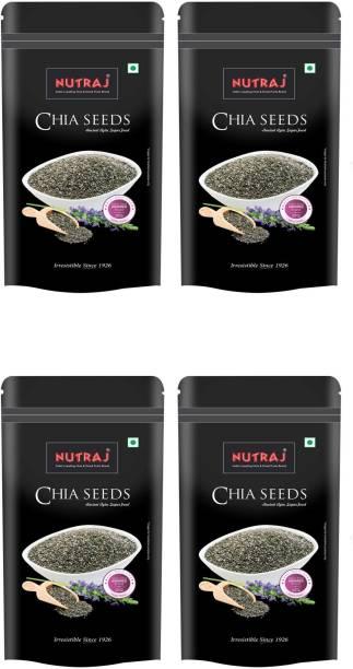 Nutraj Chia Seeds 200g (Pack of 4)