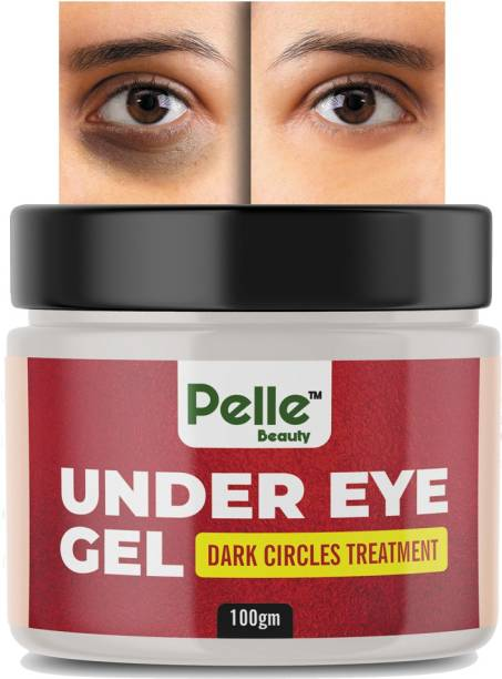 Pelle Beauty Under Eye gel for Relieving Dark Circles _Dark Circle Treatment_ Dark Spots _for men & women _100gm