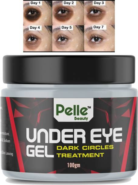 Pelle Beauty Under Eye gel for Relieving Dark Circles _Dark Circle Treatment _for men & women _100gm