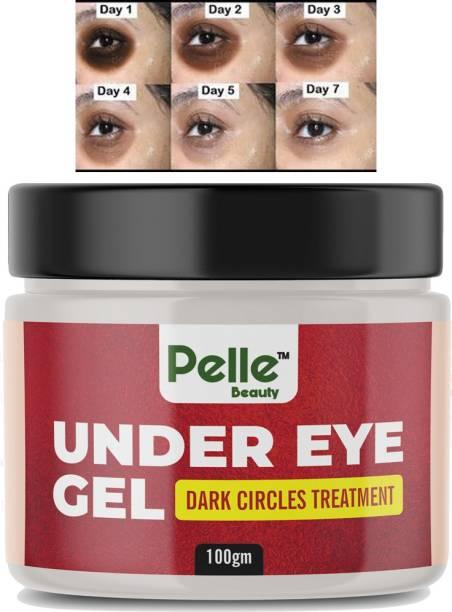 Pelle Beauty Under Eye Gel For Dark Circles _ For men & women_100gm