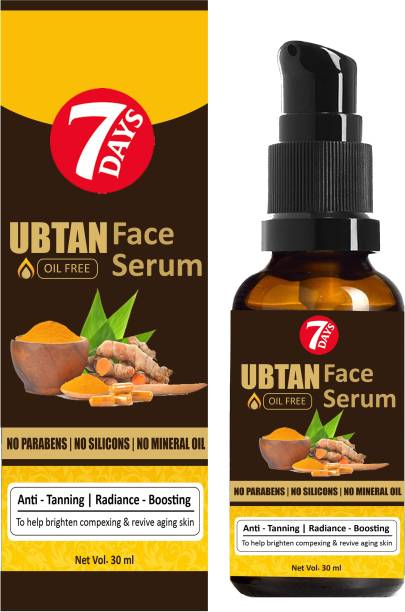 7 Days Ubtan Vitamin C Serum For Natural Glowing Beauty Pigmentation_Acne_Scars_Age Spots_Anti-Wrinkles And Skin Whitening