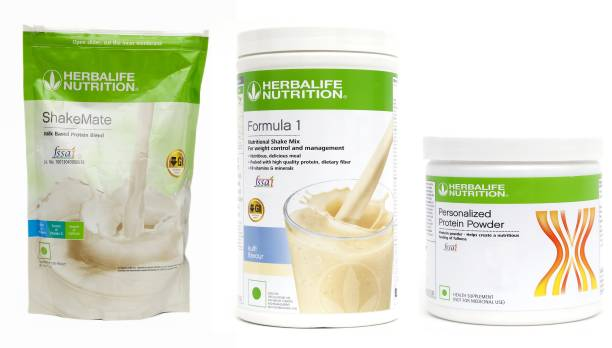 HERBALIFE WEIGHT LOSS COMBO OF (FORMULA-1 KULFI + SHAKEMATE + PPP200) Nutrition Drink